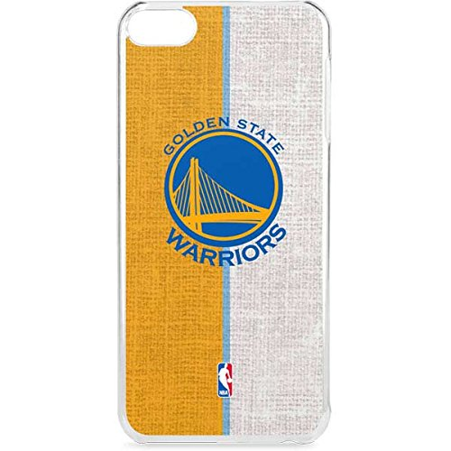 Skinit NBA Golden State Warriors iPod Touch 6th Gen LeNu Case - Golden State Warriors Canvas Design - Premium Vinyl Decal Phone Cover