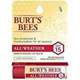 BURT'S BEES ALL WEATHER SPF 15 LIP BALM