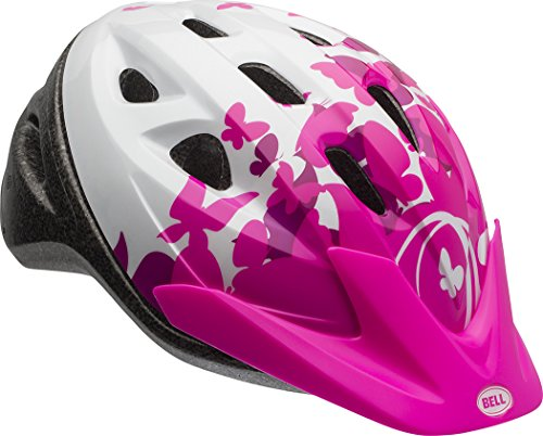 (Bell 7073350 Rally Child Helmet, Pink/White Flutter)