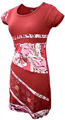 Rundhals Little Kleid Damen Kathmandu Baumwolle Ff4cqYPAw