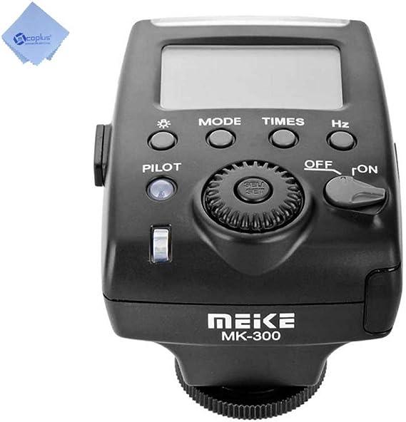 Meike Mk300 Blitz Für Nikon Schwarz Kamera