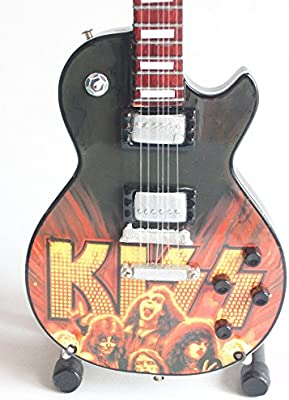 Mini guitarra de colección - Replica mini guitar - Kiss - Tribute - TOP SELLER: Amazon.es: Instrumentos musicales