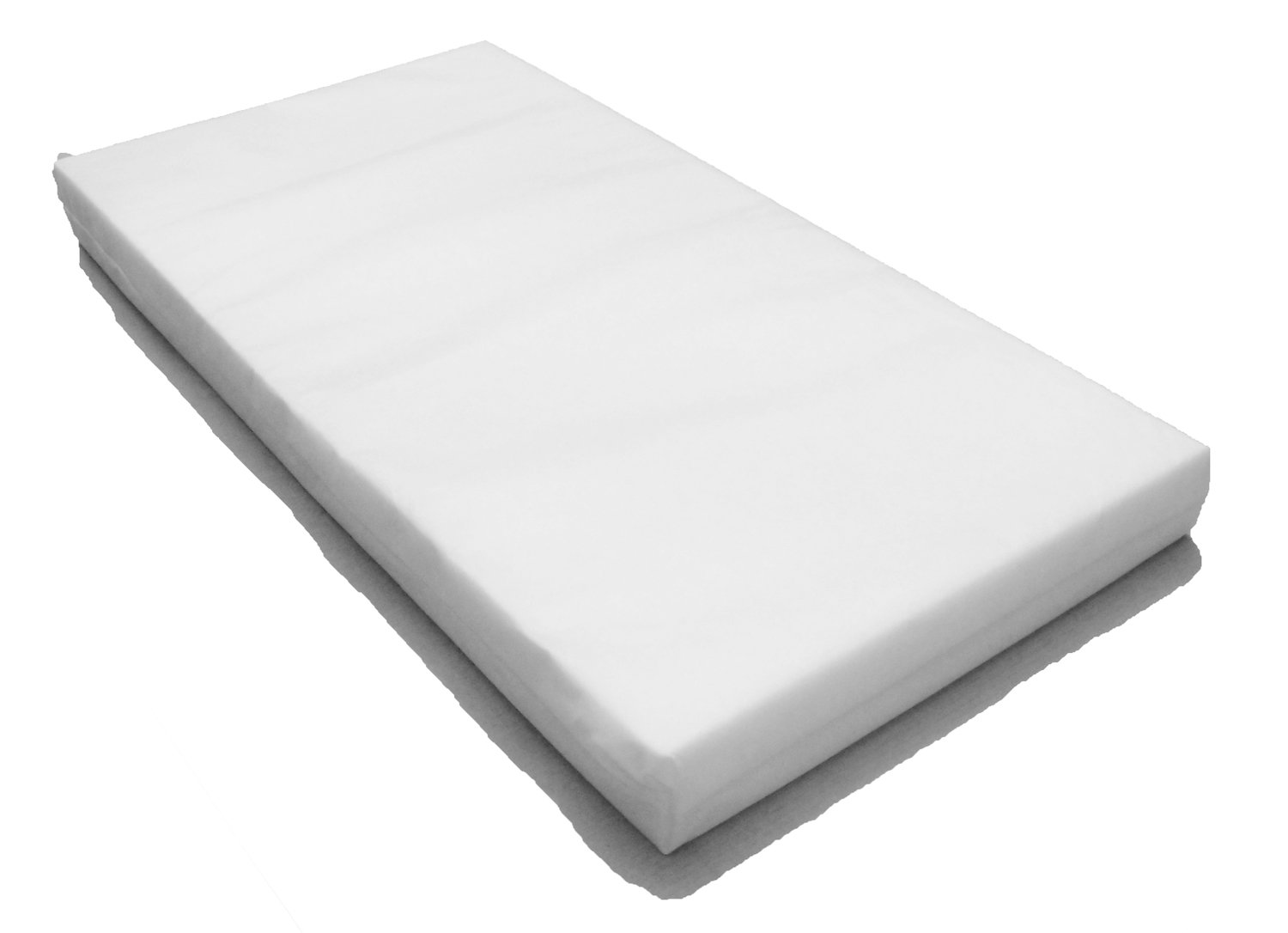 Spacesaver Baby Cot Mattress - Superior Foam Mattress Size 100 x 52 cm x 10cm THICK SS-100