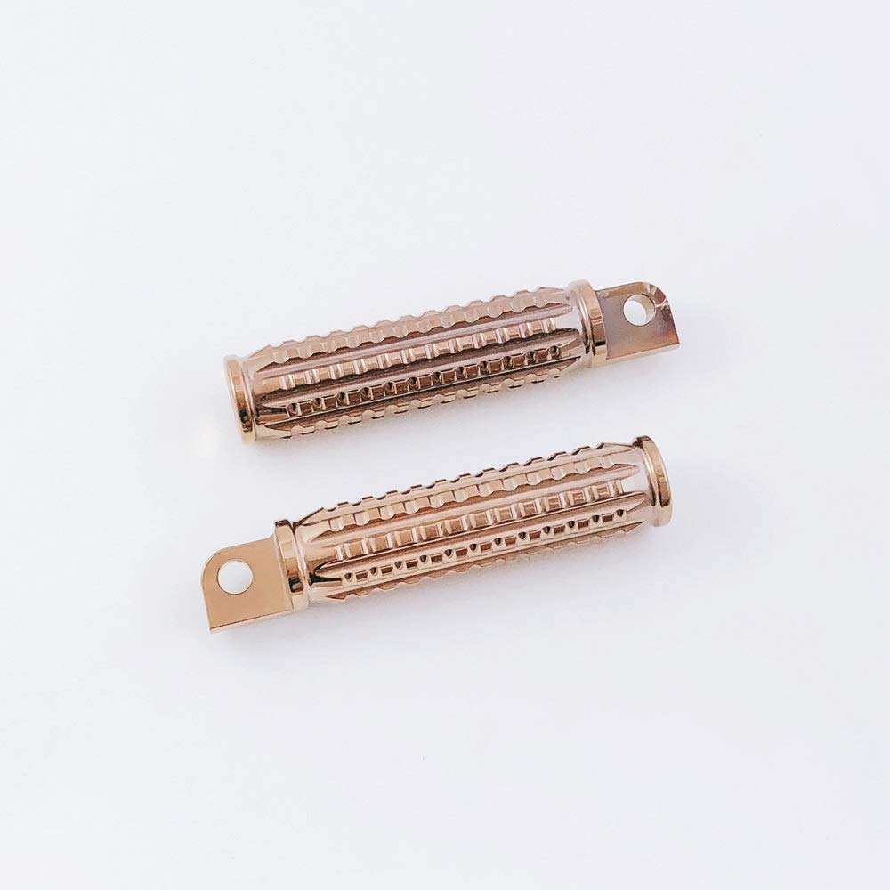 FANGSTER GRAINED FOOT PEGS FOR HARLEY DAVIDSON chrome