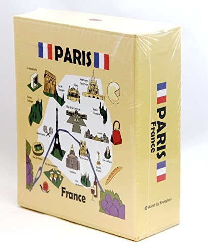 Paris France Embossed Photo Album 200 Photos / 4x6