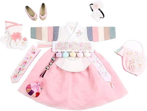 Hanbok hair accessory headband style for short hair baby girl dress  Dolbok