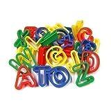 26 Upper Case Plastic Playdough Cookie Cutters A-Z Alphabet Letters