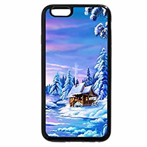 iPhone 6S / iPhone 6 Case (Black) Little house in the snow...