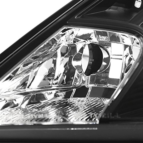 With Led Dry Spec-D Tuning LHP-CEL00JM-RS Black Projector Headlight