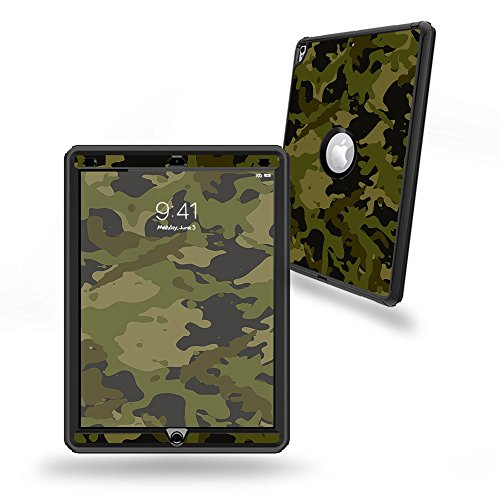 "Skin Compatible with OtterBox Defender Apple iPad Pro 12.9""(2017) - Green Camouflage