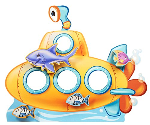 BirthdayExpress Nautical Sea Life Party Supplies - Submarine Stand in Photo Prop ()