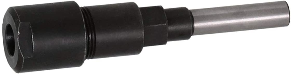 v/ástago de 8 mm varilla de extensi/ón para fresa para madera y negro Barra de extensi/ón para enrutador con v/ástago alargador para m/áquina de grabado Sairis