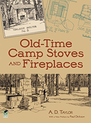 Old-Time Camp Stoves and Fireplaces (Dover Books on Antiques and Collecting)