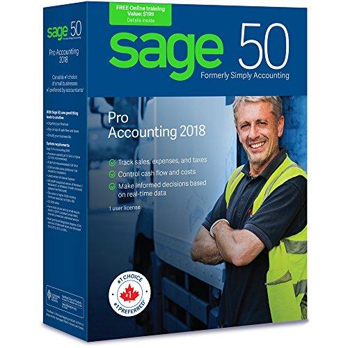 Sage 50 Pro Accounting 2018