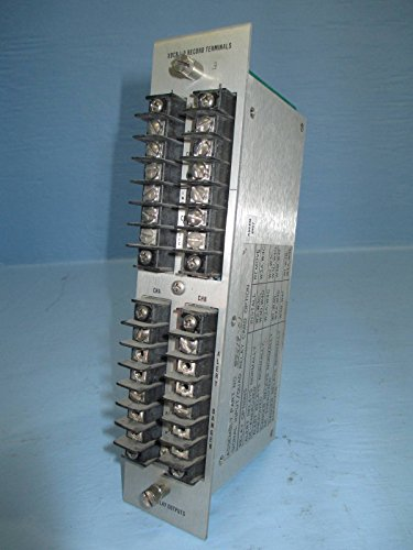 (Bently Nevada 89419-01 83729-01 XDCR I/O Record Terminal 78599-06 PLC Relay Card)