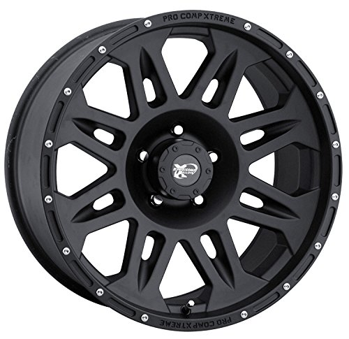 Pro Comp Alloys Series 05 Wheel with Flat Black Finish (17×8″/6×139.7mm)