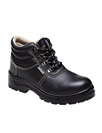 Eclimb Men's Practical and Safety Steel-Toe Work Shoe