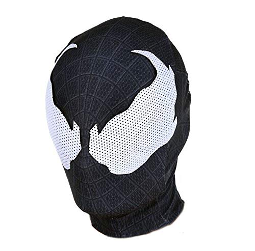 Black Symbiote Clothing mask,Venom Mask Cosplay Costume for Adult Halloween by Yacn
