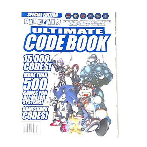 Gamefan Ultimate Code Book, 15000 Codes 500 Games, 1999 Special Edition, (Playstation Nintendo 64, Dreamcast, Saturn, Gameboy, Gameshark) (Codes Cheats Dreamcast &)
