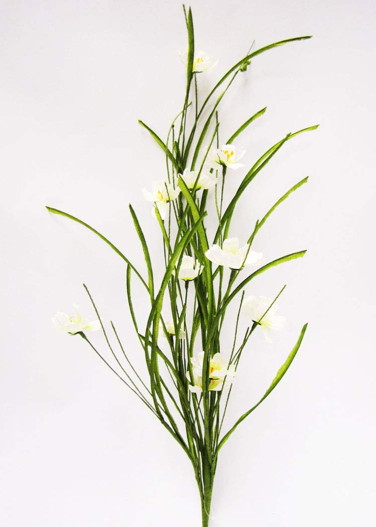 Darice JXS5056 Everyday Long stem Cosmos Grass Spray 32 Cream