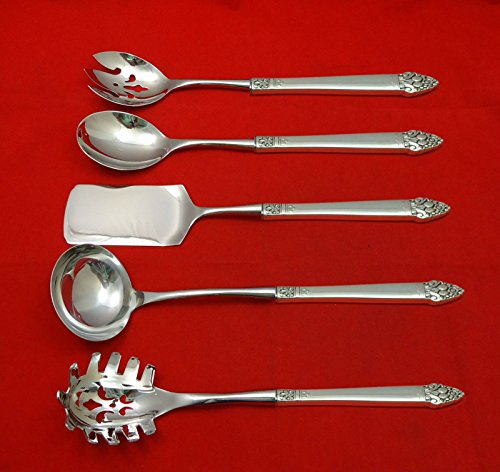 King Cedric by Oneida Sterling Silver Hostess Set 5pc HHWS Custom Made