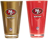NFL San Francisco 49ers 20-Ounce Insulated Tumbler - 2 Pack