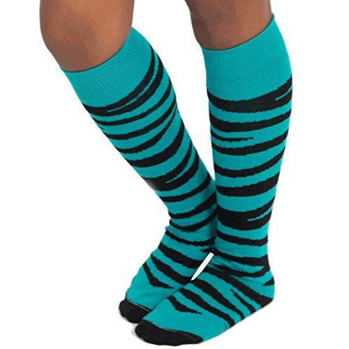 Zebra Knee Socks - 6