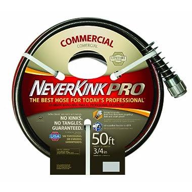 Neverkink 9844-50 Series 4000 Commercial Duty Pro Garden Hose, 3/4-Inch by 50-Feet