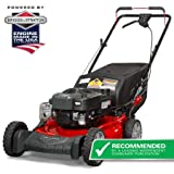 """Snapper 21"""" Gas Rear Wheel Drive Self-Propelled Mower with Side Discharge, Mulching, Rear Bag"""