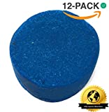 Urinal Cakes (12 Count Box of Urinal Deodorizer Blocks) - Non-Para Formula - 1000 Flushes -Fresh Scent