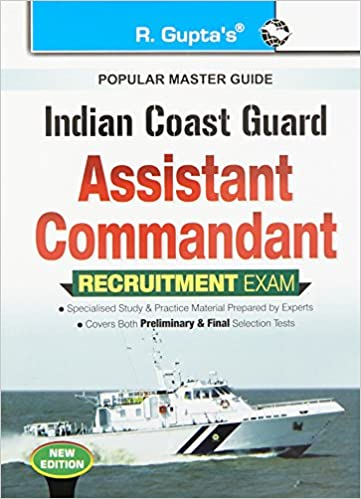 Buy indian coast guard assistant commandant recruitment exam guide buy indian coast guard assistant commandant recruitment exam guide book online at low prices in india indian coast guard assistant commandant fandeluxe Gallery