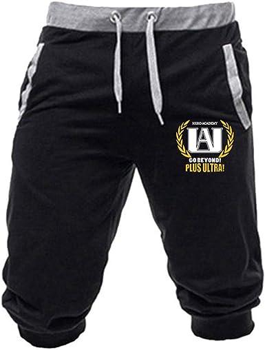 My Boku no Hero Academia Woman//Men/'s shorts cropped trousers Leisure clothing