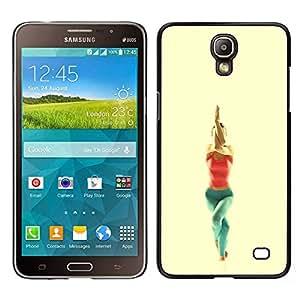 """For Samsung Galaxy Mega 2 , S-type garudasana yoga poza"""" - Arte & diseño plástico duro Fundas Cover Cubre Hard Case Cover"""