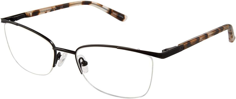 Eyeglasses Ann Taylor AT 601 C01 MT BLK//WT TORT
