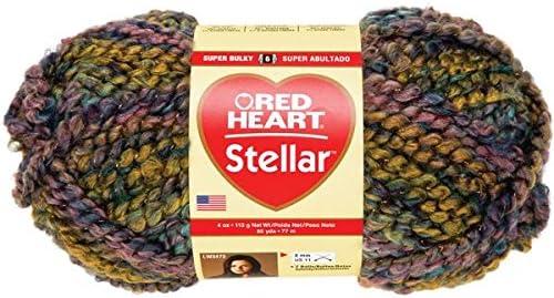 Coats Yarn E811-9935 Red Heart Stellar Yarn-Nova