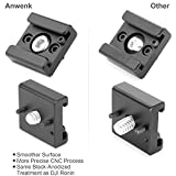 2 Pack Cold Shoe Mount Adapter Cold Shoe Bracket Standard Shoe Type with 1/4 Thread Hole for Camera DSLR Flash Led Light Monitor Video and More