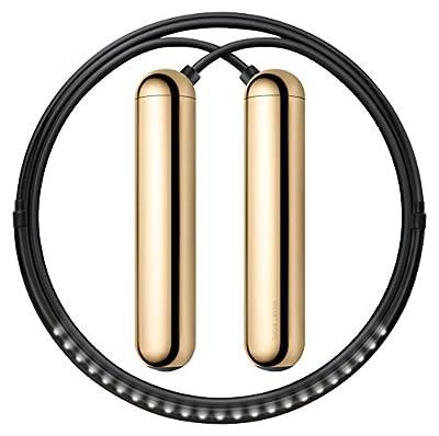 Tangram Factory - Smart Rope - LED Embeded Jump Rope - Displays Progress in Air