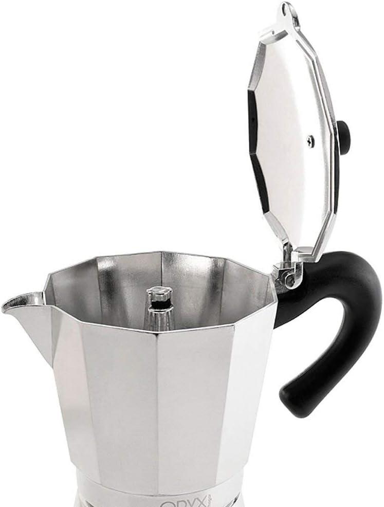 ORYX 5056022 Cafetera Inducción Aluminio 6 Tazas (300 Ml.): Amazon.es: Hogar
