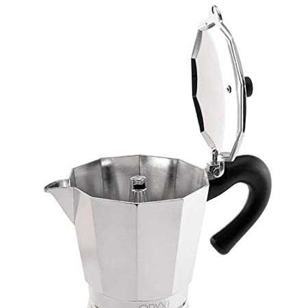 Oryx 5056022 Cafetera Inducción Aluminio 6 Tazas (300 Ml: Amazon ...