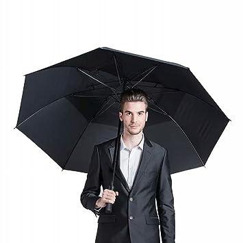 WX Paraguas Doble Grande Del Paraguas Del Paraguas Recto Que Hace Publicidad Del Paraguas 8 Paraguas