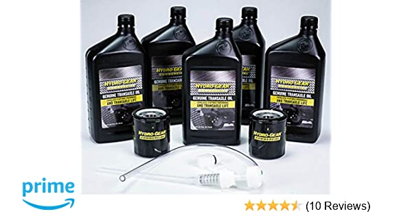 Amazon.com : Hydro Gear 72750 Transaxle Oil Service Kit : Garden & Outdoor