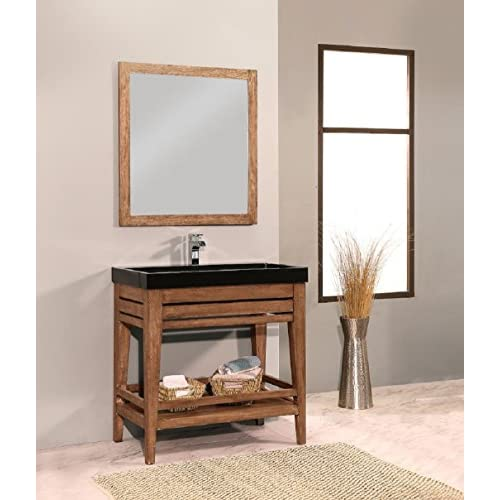 "durable modeling NGY VA19-48-SE Bathroom Vanity Set Palm Springs Collection, 48"" L"