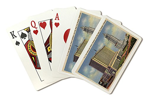 (U. S. Post Office, City Hall, and Federal Building (Playing Card Deck - 52 Card Poker Size with Jokers))