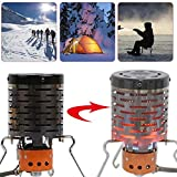 Mini Heater Portable Stove Heater Cap Winter Outdoor Travel Camping Picnic BBQ Fishing Warmer Rack Tent Heating Stove Cover Tool