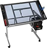 OneSpace 50-CS01 Craft Station, Silver with Blue Glass