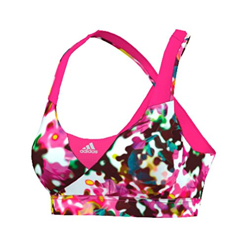 adidas Women's Supernova Bra - Print, Multicolor/Pink, XS