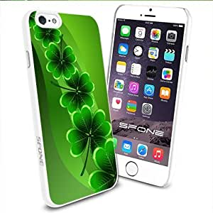 The Irish Shamrock for St. Patrick's Day Apple Smartphone iPhone 4s inch Case Cover Collector TPU Soft White Hard Cases