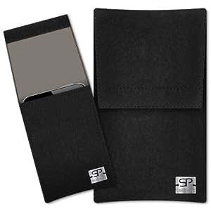 SIMON PIKE Cáscara Funda de móvil Sidney 7 negro Samsung GT-S7560 Fieltro de lana