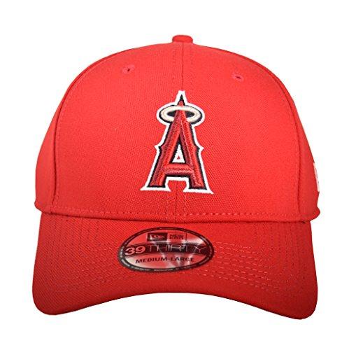 - New Era Men's Team Classic 3930 Anaheim Angels Game Red Hat SM/MD