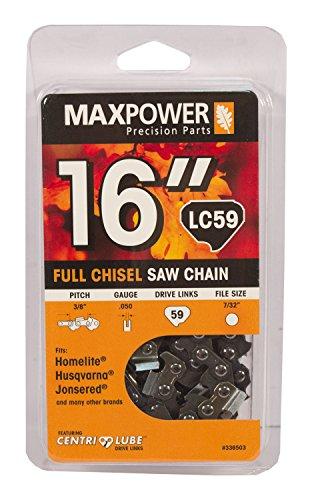 "Maxpower 16"" Chainsaw Chain Loop for Homelite, Husqvarna ..."